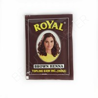 Хна Royal brown коричневая