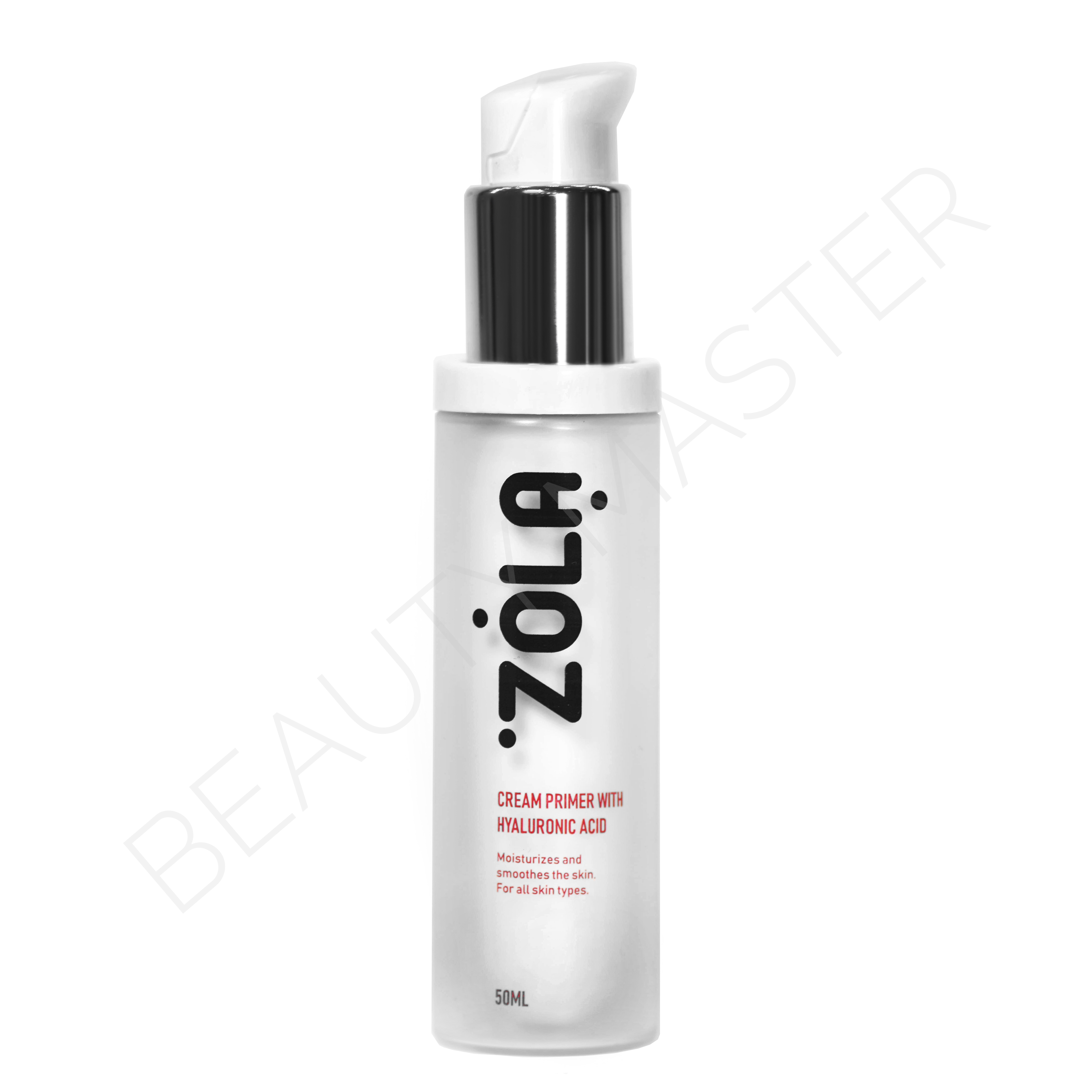 ZOLA Крем Праймер под макияж CREAM PRIMER WITH HYALURONIC ACID 50мл