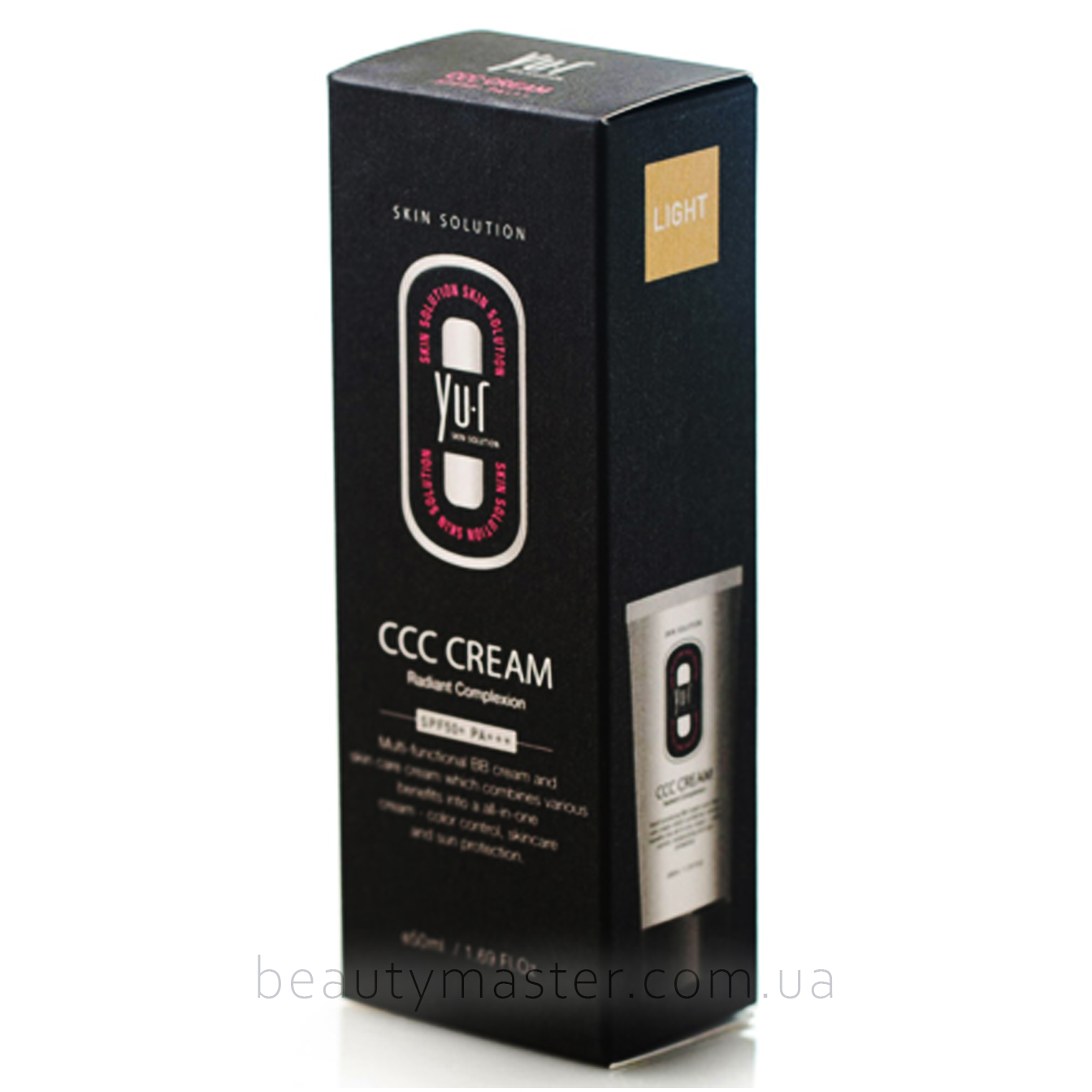 YU-R Крем CCC Cream Light SPF 50+ PA+++ 50мл Корея